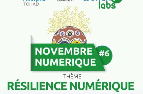 Article : Au Tchad, la sixième édition du «Novembre Numérique» est lancée